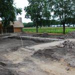 De paden structuur worden blootgelegd